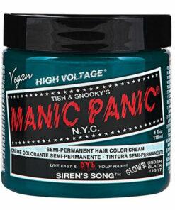 Coloration Cheveux Vert Chant de Sirène - Manic Panic | Color-Mania