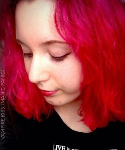 Merci Stephanie :) Coloration Cheveux Rouge Vampire's Kiss - Manic Panic | Color-Mania