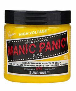 Coloration Cheveux Jaune Soleil - Manic Panic | Color-Mania
