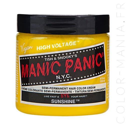 Hair Color Yellow Sun - Manic Panic | Color-Mania