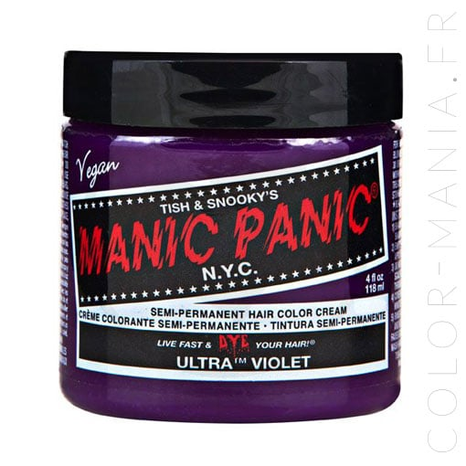 Coloration Cheveux Ultra Violet - Manic Panic | Color-Mania