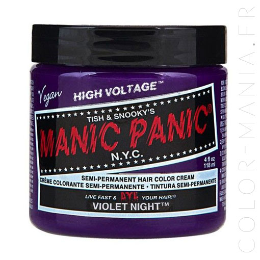 Violet Night Hair Coloring - Manic Panic | Color-Mania
