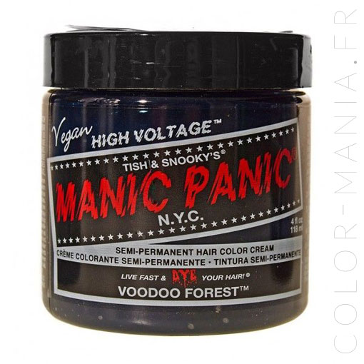 Coloration Cheveux Vert Voodoo Forest - Manic Panic | Color-Ma