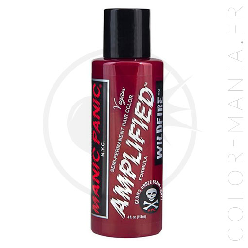 Manic Panic Wildfire - Amplified | Color-Mania