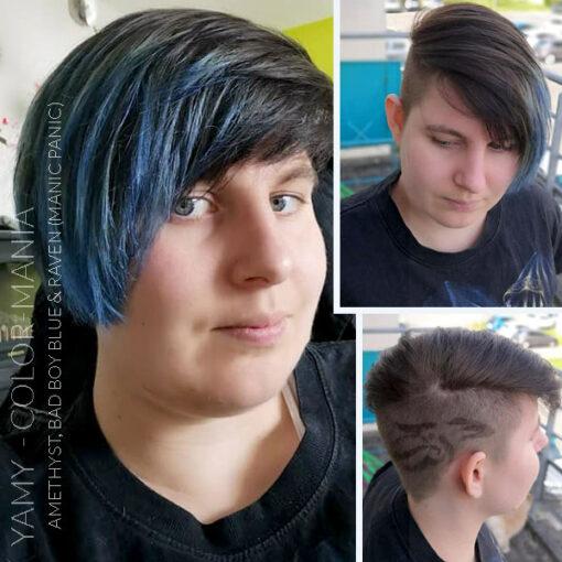Merci Yamy :) Coloration Cheveux Bleu Bad Boy Blue - Manic Panic | Color-Mania