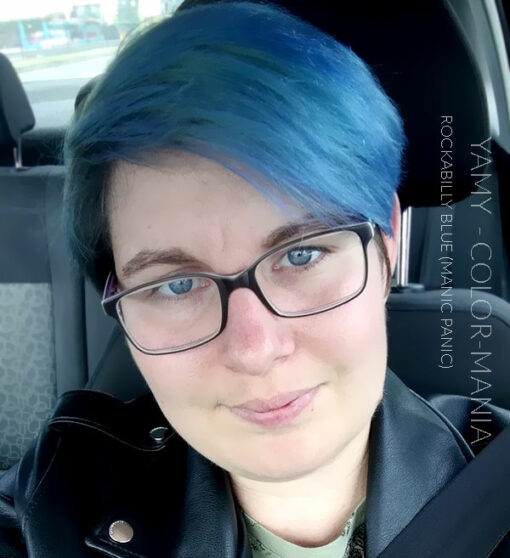 Merci Yamy :) Coloration Cheveux Bleu Rockabilly Blue - Manic Panic | Color-Mania