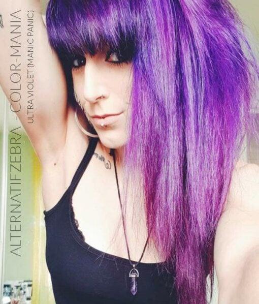 Gracias Alternatifzebra :) Ultra Purple Hair Coloring - Manic Panic | Color-Mania