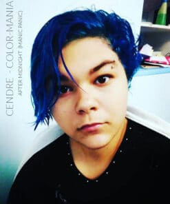 Merci Cendre :) Coloration Cheveux Bleu After Midnight - Manic Panic | Color-Mania