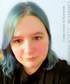 Merci Charlene :) Coloration Cheveux Bleu Bad Boy Blue - Manic Panic | Color-Mania