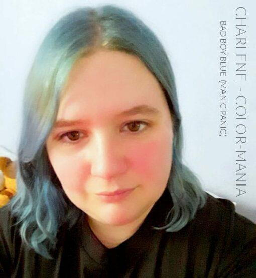 Merci Charlene :) Coloration Cheveux Bleu Bad Boy Blue - Manic Panic | Color-Mania