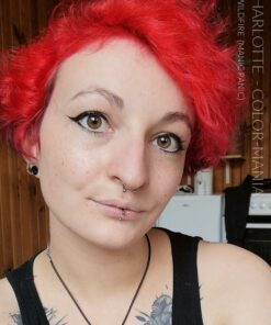 Gracias Charlotte :) Red Hair Coloring Wildfire - Manic Panic | Color-Mania