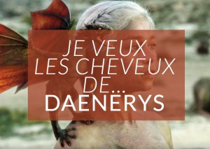 cosplay daenerys cheveux blancs