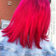 Rose – Merci Cuore :) Coloration Cheveux HotHotPink et Flamingo – Manic Panic