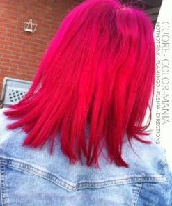 Rose - Grazie Cuore :) Colorazione dei capelli HotHotPink e Flamingo - Manic Panic