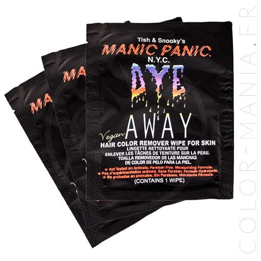 Lingettes Détachantes de Coloration pour la Peau - Manic Panic | C