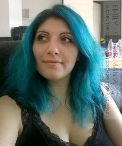 Gracias Emily :) Hair Color Green Voodoo Forest - Manic Panic | Color-Mania
