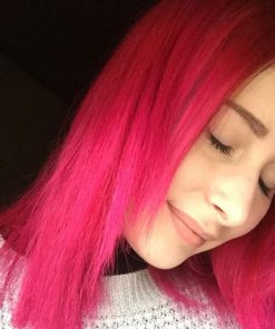Coloration Cheveux Rose Hot Hot Pink UV - Manic Panic | Color-mania