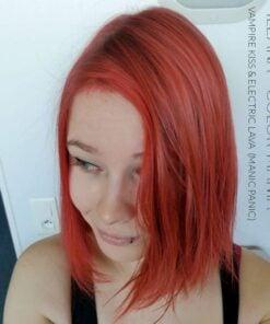 Merci Ileana :) Coloration Cheveux Rouge Vampire's Kiss - Manic Panic | Color-Mania