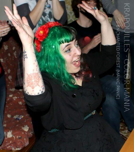 Merci Krapouilles :) Coloration Cheveux Vert Enchanted Forest – Manic Panic | Color-Mania