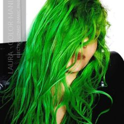 Merci Laura :) Coloration Cheveux Vert Electric Lizard UV - Manic Panic | Color-Mania