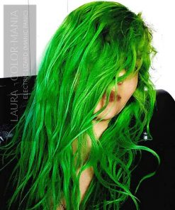 Gracias Laura :) Color de pelo Electric Green Lizard UV - Manic Panic | Color-Mania