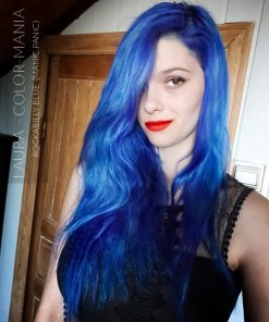 Merci Laura :) Coloration Cheveux Bleu Rockabilly Blue - Manic Panic | Color-Mania