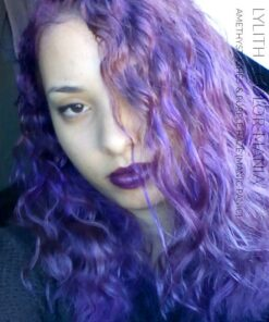 Merci Lyllith :) Coloration Cheveux Lilas Amethyst Ashes - Manic Panic | Color-Mania