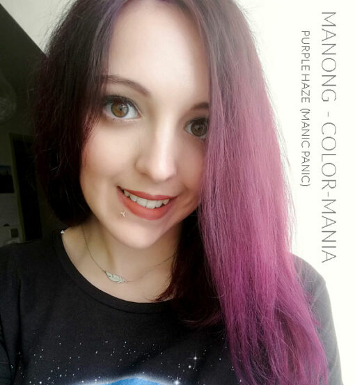 Merci Manong :) Coloration Cheveux Violet Purple Haze - Manic Panic | Color-Mania