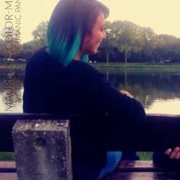 Coloration Cheveux Bleu Voodoo Blue - Manic Panic | Color-Mania