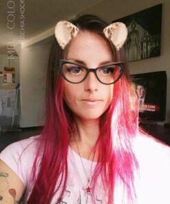 Merci Mel :) Coloration Cheveux Rose Fuchsia Shock - Manic Panic | Color-Mania