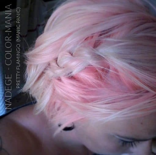 Merci Nadège :) Coloration Cheveux Corail Pretty Flamingo UV - Manic Panic | Color-Mania