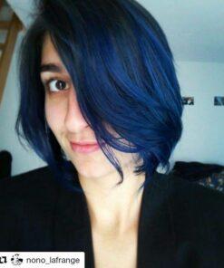 Merci Nono la Frange :) | Coloration Cheveux Bleu After Midnight - Manic Panic | Color-Mania