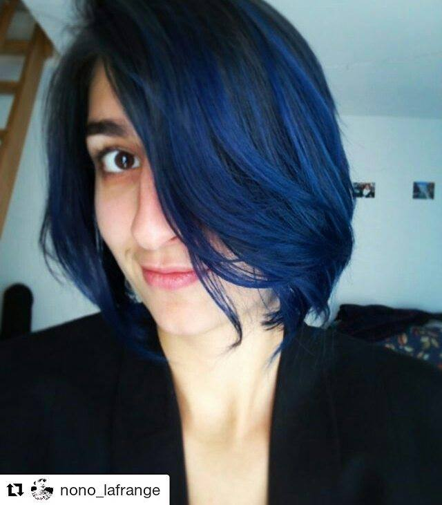 Super Coloration Cheveux Bleu After Midnight - Manic Panic | Color-Mania JR96
