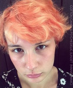 Merci Ocean Flavour :) Coloration Cheveux Rose Cotton Candy Pink UV - Manic Panic | Color-Mania