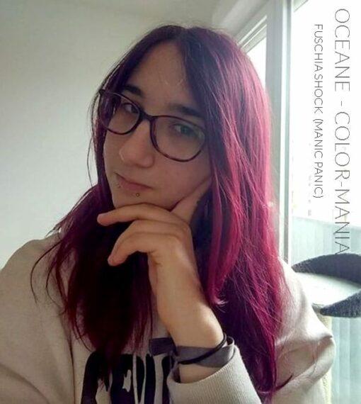 Merci Oceane :) Coloration Cheveux Rose Fuschia Shock - Manic Panic | Color-Mania