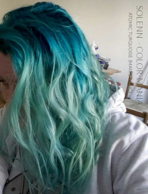 Merci Solenn :) Coloration Cheveux Atomic Turquoise - Manic Panic | Color-Mania