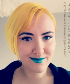 Merci Sophie :) Coloration Cheveux Jaune Sunshine - Manic Panic | Color-Mania