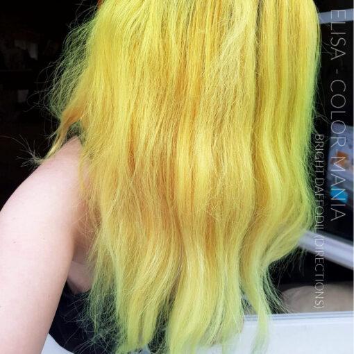 Merci Elisa :) Coloration Cheveux Jaune Jonquille - Directions -| Color-Mania
