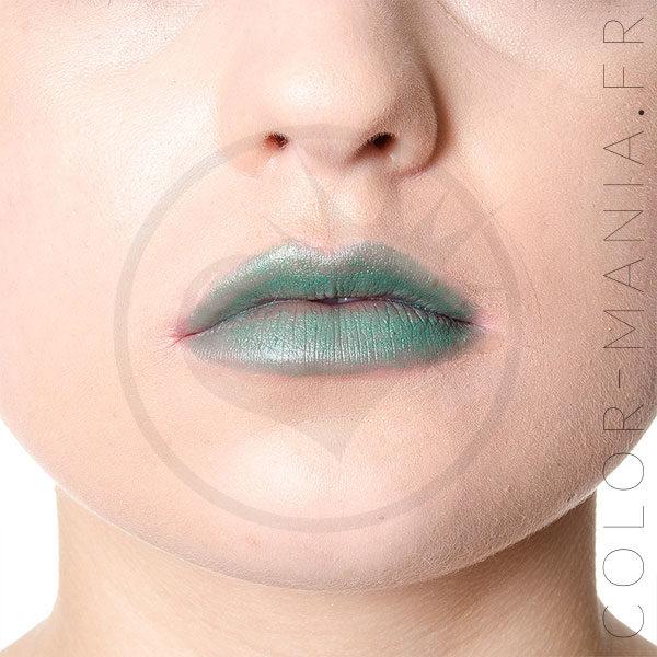Green Envy Lipstick verde - Manic Panic   Color-Mania