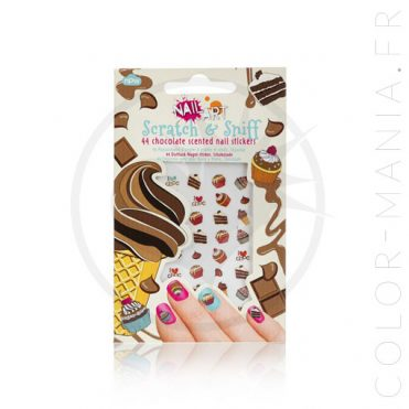Stickers Ongles Chocolat – Nail Art | Color-Mania