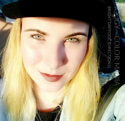 Merci Moggy :) Coloration Cheveux Jaune Jonquille - Directions   Color-Mania