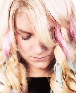 Extensions Cheveux Ombré Rose et Bleu Ciel | Color-Mania