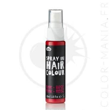 Spray Cheveux Colorant – Rose | Color-Mania