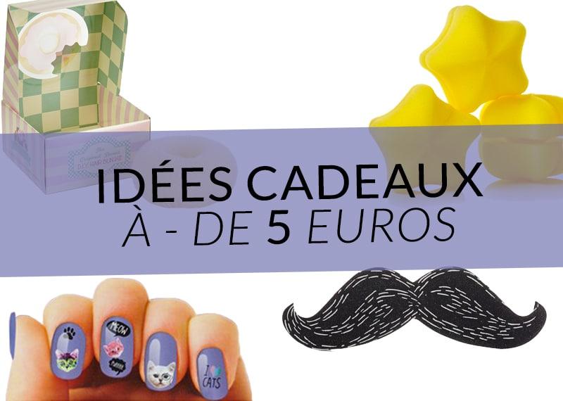 id es cadeaux moins de 5 euros color mania. Black Bedroom Furniture Sets. Home Design Ideas