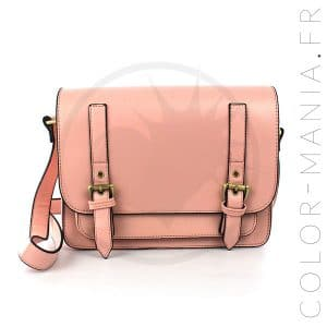 Satchel - Sac à Main Rose Pastel | Color-Mania