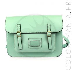 Satchel - Sac Cartable Vert Menthe | Color-Mania