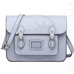 Sac Cartable Satchel Bleu Ciel | Color-Mania