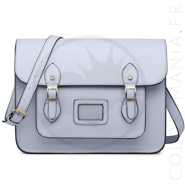 Bolso Satchel Satchel azul cielo | Color-Mania