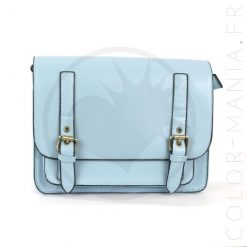 Satchel - Sac à Main Bleu Ciel | Color-Mania
