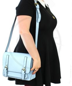 Satchel - Sky Blue Handbag | Color-Mania